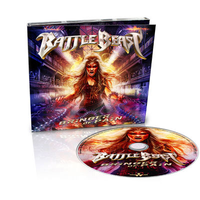 Battle Beast: Bringer Of Pain: Ltd Edition Digipack + Signed Insert