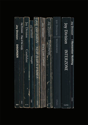 Joy Division: 'Unknown Pleasures' Album As Books Art Print