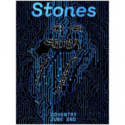 The Rolling Stones: Coventry Lithograph