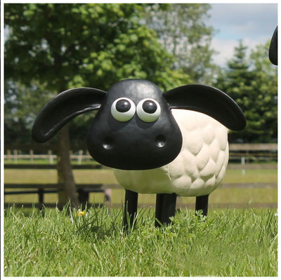 Shaun the Sheep: Timmy Metal Garden Sculpture