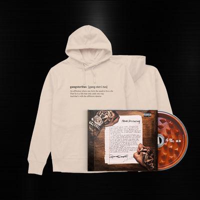 Potter Payper: Thanks for Waiting CD & Gangsteritus - Hoodie
