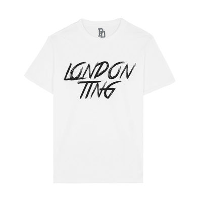 I Play Dirty: London Ting White T-shirt
