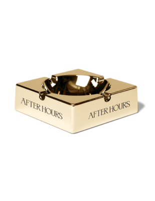 The Weeknd: AFTER HOURS GOLD ASHTRAY