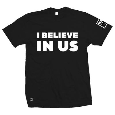 james bay: I Believe In US War Child Charity tee - S