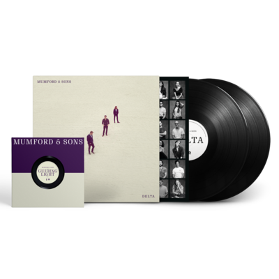 Mumford & Sons : Delta Double LP + exclusive bonus 7