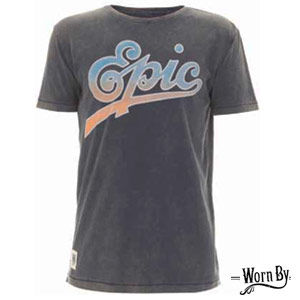 Worn By: Vintage Style 'Epic Records' Worn By T-Shirt