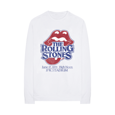 The Rolling Stones: Vintage JFK Stadium Crewneck