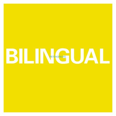 Pet Shop Boys: Bilingual 180gm Heavyweight Vinyl