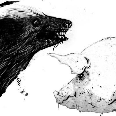 Clark: Honey Badger / Pig