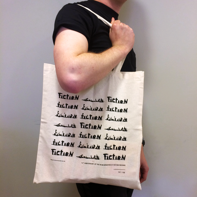 Fiction: Fiction 10 Years Tote Bag