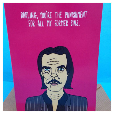 Nick Cave: Nick Cave Greetings Card