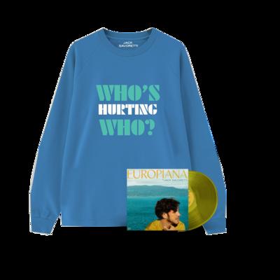 Jack Savoretti: Vinyl & WHW Blue Sweat