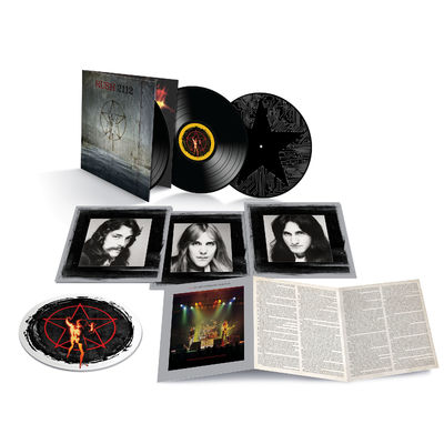 Rush: 2112 - 40th ANNIVERSARY X 3 LP