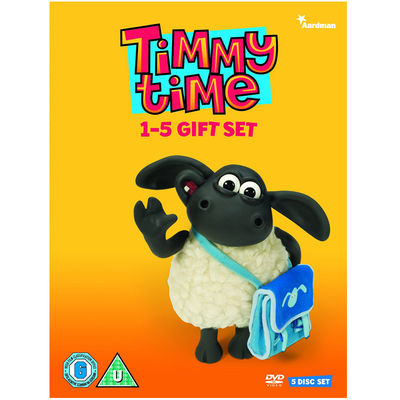 Timmy Time: 1-5 Giftset DVD
