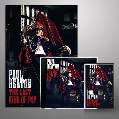 Paul Heaton: The Last King Of Pop Signed Bundle