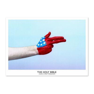 Manic Street Preachers: The Holy Bible - Handgun Litho