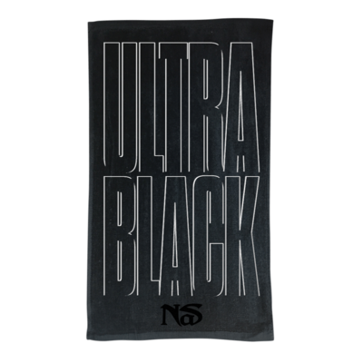 Nas: ULTRA BLACK TONAL TOWEL