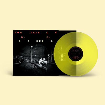 FONTAINES D.C.: Dogrel: Signed Limited Edition Transparent Yellow Vinyl