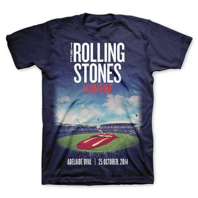 The Rolling Stones: Oval: Adelaide Limited Edition Event T-Shirt
