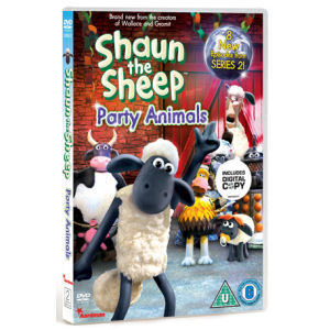 Shaun the Sheep: Party Animals DVD
