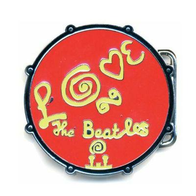 The Beatles: Love Drum Red Buckle