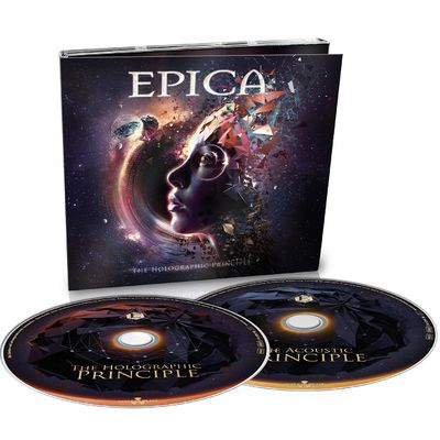 Epica: The Holographic Principle 2CD Digipack + Signed Insert