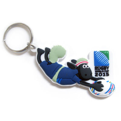 Shaun the Sheep: RWC 2015 - Try Rubber keychain