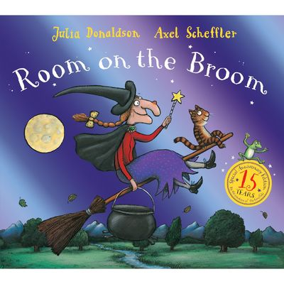 Room on the Broom: Room on the Broom 15th Anniversary Edition (Paperback)