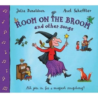 Donaldson and Scheffler: Room on the Broom Song and Other Songs (Paperback and CD)