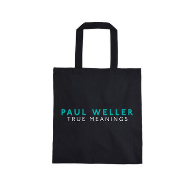 Paul Weller: TRUE MEANINGS TOTE BAG