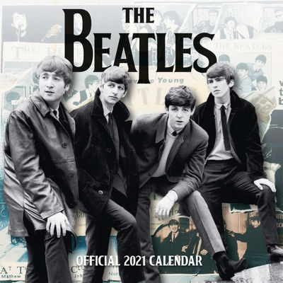 The Beatles: The Beatles 2021 Square Calendar