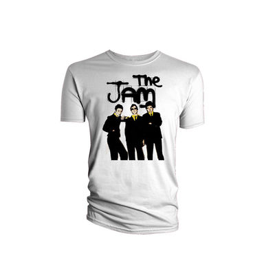 Paul Weller: The Jam Group Pic White Men's T-Shirt
