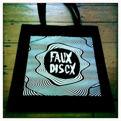 Faux Discx: Faux Discx Tote Bag
