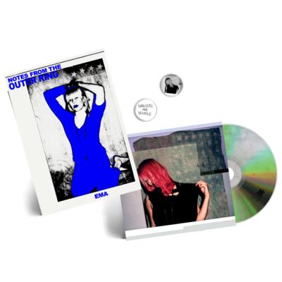 EMA: Exile In the Outer Ring CD + Fanzine + City Slang Sampler