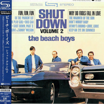 The Beach Boys: Shut Down Vol. 2: SHM-CD