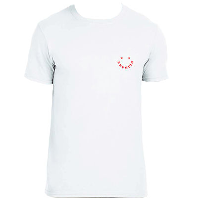 SAVERIA: Saveria - Logo Tee Small (White)
