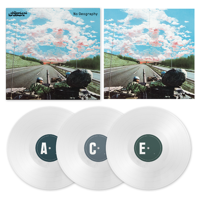 The Chemical Brothers: No Geography Exclusive 3LP