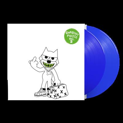 Various: Gangster Music Vol. 2 - Blue 2LP
