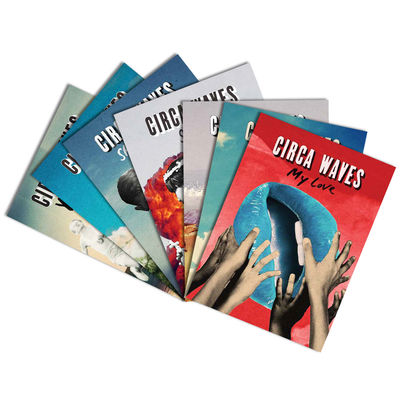 Circa Waves: Singles Artwork Postcard Set