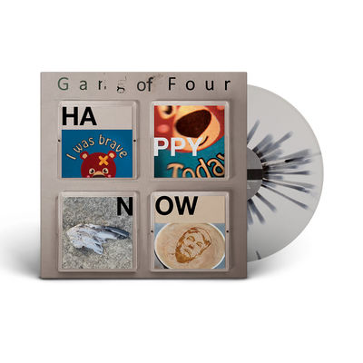 Gang Of Four: Happy Now: Limited Edition White Splatter Vinyl