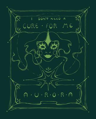 aurora: Cure For Me glow-in-the-dark screen print