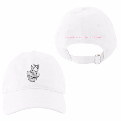 Katy Perry: Chained White Dad Hat