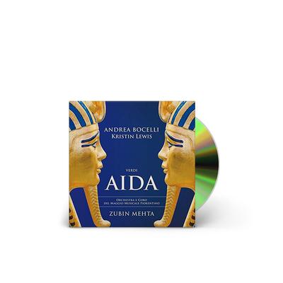 Andrea Bocelli and Zubin Mehta : Verdi: Aida