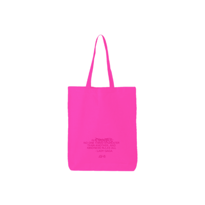 Lady Gaga: KINDNESS RULES TOTE