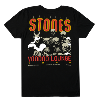 The Rolling Stones: Mexico City Voodoo Lounge '95 Tour T-Shirt