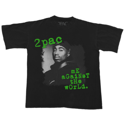 2Pac: ME AGAINST THE WORLD PHOTO T-SHIRT