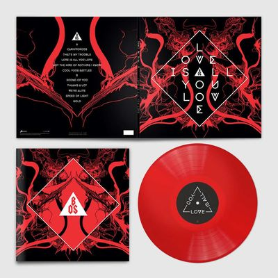 Band Of Skulls: Love Is All You Love: Signed Limited Edition Red Vinyl