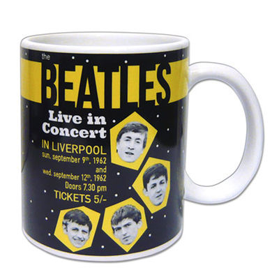 The Beatles: The Beatles 1962 'Live In Concert In Liverpool' Boxed Mug
