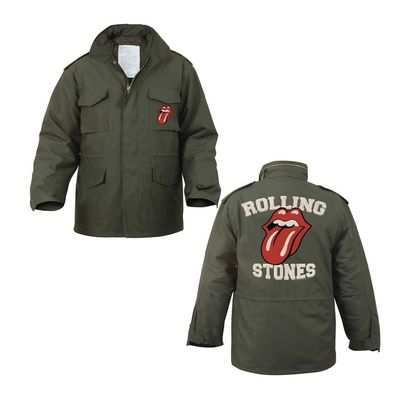 The Rolling Stones: Vintage Army Field Jacket