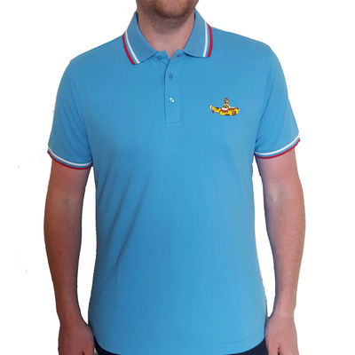 The Beatles: Unisex Polo Shirt: Yellow Submarine